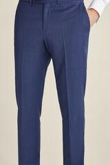 Pedro del Hierro Pantalón azul grisáceo slim fit Azul
