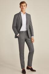 Pedro del Hierro Pantalón gris tailored fit Gris