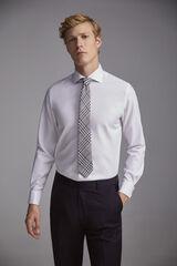 Pedro del Hierro Camisa de vestir gemelos Tech-Non Iron tailored Blanco
