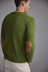 Pedro del Hierro Jersey cuello caja Verde