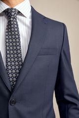 Pedro del Hierro Americana traje tailored fit Azul