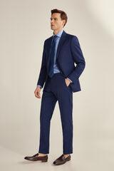 Pedro del Hierro Pantalón azul tailored fit Azul