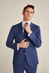 Pedro del Hierro Americana azul grisáceo slim fit Azul