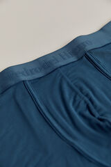 Pedro del Hierro Boxer curto de eco-modal Azul