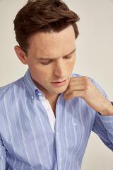 Pedro del Hierro Camisa de rayas Azul