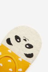 Springfield Calcetín invisible animal amarillo