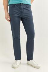Springfield Pantalón 5 bolsillos slim azulado