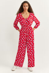 Springfield Mono pantalón largo estampado rojo