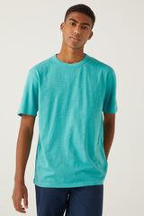 Springfield Camiseta lavada azul