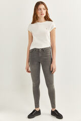 Springfield Jeans Body Shape gris