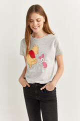 "Springfield Camiseta ""Winnie Pooh"" gris"