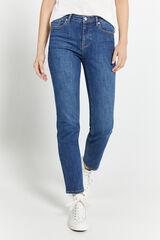 Springfield Jeans Straight Algodón Reciclado azul acero