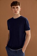 Springfield Camiseta torzal azulado