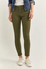 Springfield Jeans Color Eco Dye verde bosque
