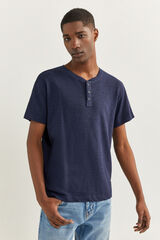 Springfield T-shirt oversize azulado