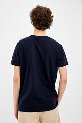 Springfield Camiseta manga corta lince azul