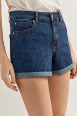 Springfield Short Denim Confort azul