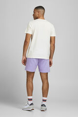 Springfield Camiseta estampado calavera blanco