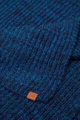 Springfield Bufanda lisa azulado