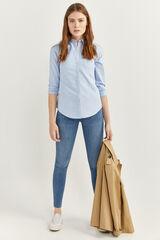 Springfield Jeans Body Shape azul acero