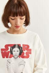 Springfield Sudadera Princess Leia natural