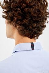 Springfield Camisa stretch + facil plancha azul acero