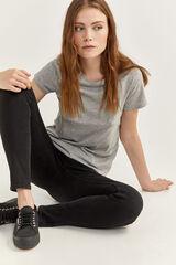 Springfield Jeans Slim Algodão Reciclado preto