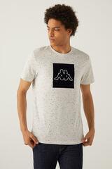 Springfield T-shirt logo kappa gris