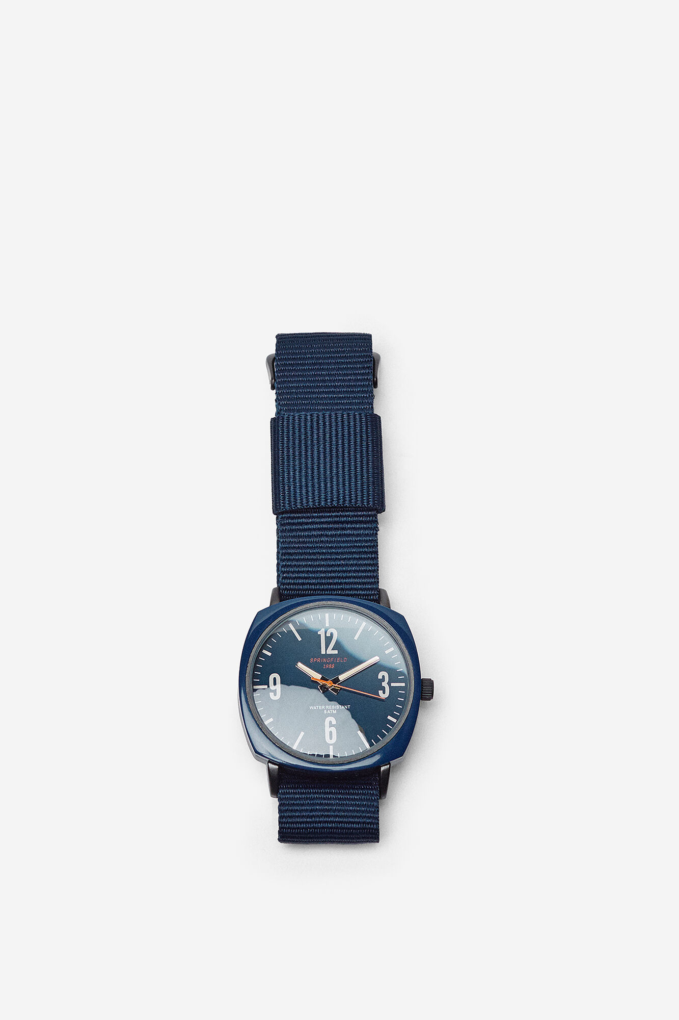 Reloj Caja Cuadrada Total Reloj Blue Caja jSVLzpqUMG