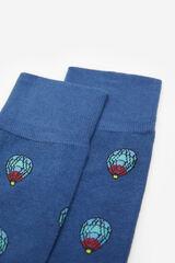 Springfield Calcetín globos azul indigo