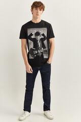 Springfield Camiseta manga corta ACDC negro