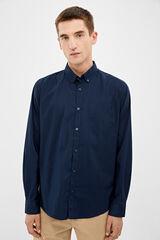 Springfield Camisa stretch + facil plancha azulado
