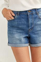 Springfield Pantalón Corto Vaquero Básico azul