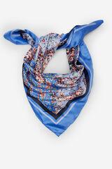 Springfield Pañuelo bandana flores azul