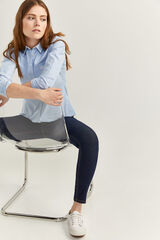 Springfield Jeans Slim Algodón Reciclado azul royal