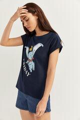 Springfield Camiseta Dumbo navy mezcla