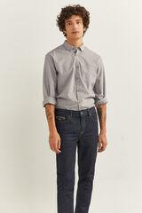 Springfield Camisa estampada gris