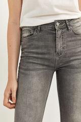 Springfield Jeans Sculpt High Rise gris