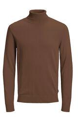 Springfield Jersey cuello alto marrón