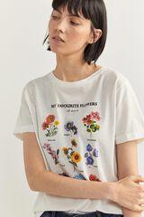 "Springfield Camiseta ""My Favourite Flowers"" natural"