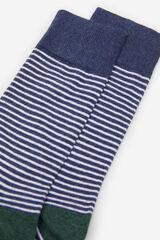 Springfield Calcetín rayas azul