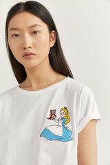 Springfield Camiseta Alicia blanco