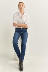 Springfield Jeans Straight Algodón Reciclado azul
