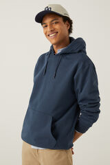 Springfield Sweatshirt capuz azulado