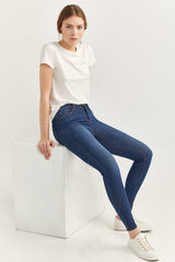 Springfield Jeans Body Shape azul