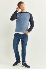 Springfield Jersey algodón azul acero