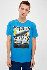 Springfield Camiseta manga corta Zeppelin malva