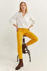 Springfield Jeans Color Eco Dye amarillo