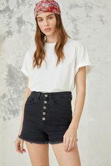 Springfield Camiseta básica algodón orgánico gris
