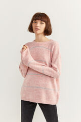 Springfield Camisola bloco rosa